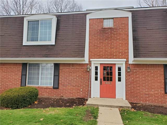 6509 Park Central Way D, Indianapolis, IN 46260 (MLS #21756299) :: AR/haus Group Realty