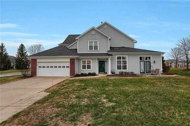 9568 Clover Leaf Lane, Fishers, IN 46038 (MLS #21756411) :: AR/haus Group Realty