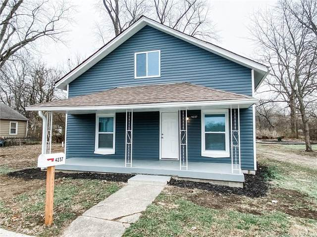 4237 N Ralston, Indianapolis, IN 46205 (MLS #21756474) :: Realty ONE Group Dream