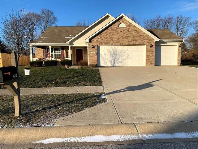 612 Grassy Bend Drive, Greenwood, IN 46143 (MLS #21756493) :: AR/haus Group Realty