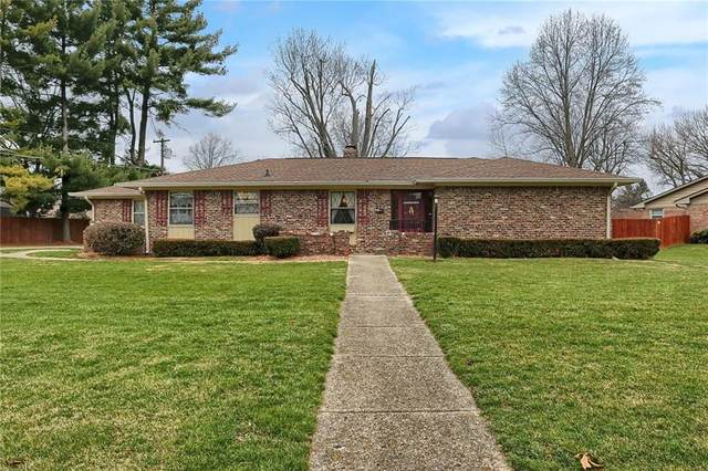 542 Sulky Court, Indianapolis, IN 46227 (MLS #21756797) :: The Evelo Team