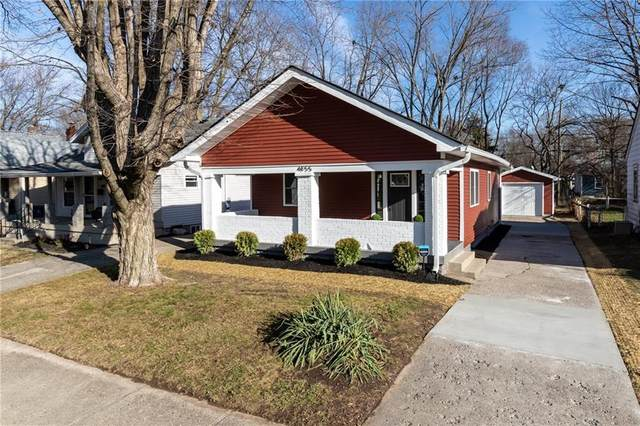 4855 Evanston Avenue, Indianapolis, IN 46205 (MLS #21756949) :: Realty ONE Group Dream