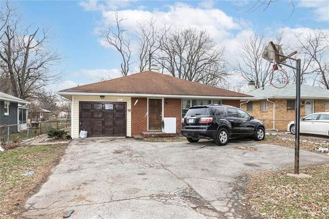 4051 N Grand Avenue, Indianapolis, IN 46226 (MLS #21756980) :: The Evelo Team