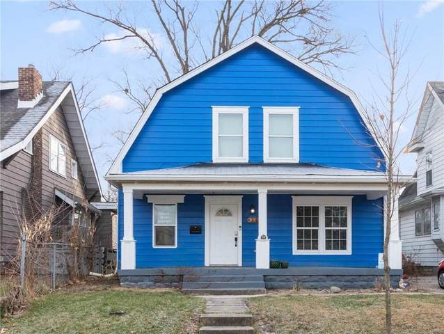 31 N Drexel Avenue, Indianapolis, IN 46201 (MLS #21756983) :: Mike Price Realty Team - RE/MAX Centerstone