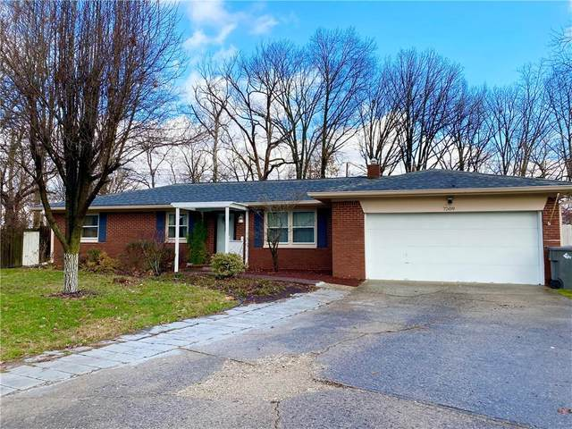 7509 Surrey Court, Indianapolis, IN 46227 (MLS #21757040) :: The Evelo Team