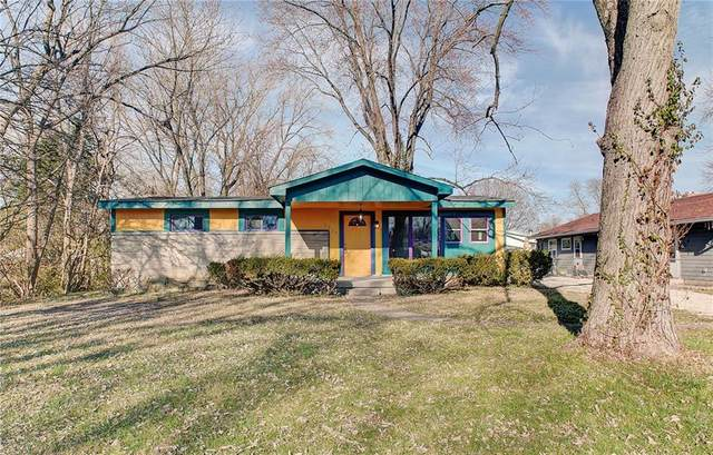 5826 E 44th Street, Indianapolis, IN 46226 (MLS #21757104) :: Mike Price Realty Team - RE/MAX Centerstone