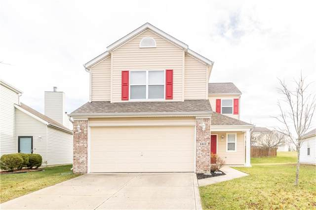 5643 Cheval Lane, Indianapolis, IN 46235 (MLS #21757105) :: The Evelo Team