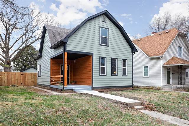 1334 N Oakland Avenue, Indianapolis, IN 46201 (MLS #21757107) :: AR/haus Group Realty