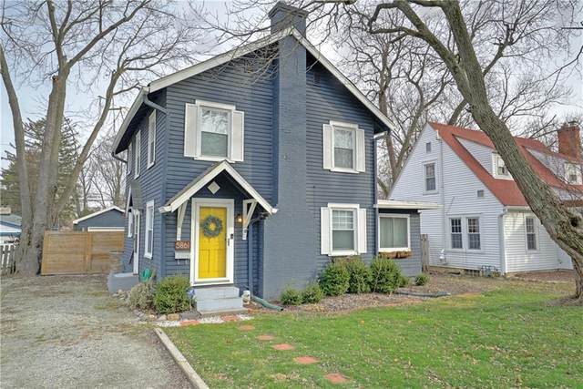 5861 Rosslyn Avenue, Indianapolis, IN 46220 (MLS #21757143) :: Mike Price Realty Team - RE/MAX Centerstone