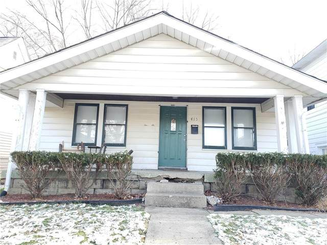 415 N Euclid Avenue, Indianapolis, IN 46201 (MLS #21757233) :: Realty ONE Group Dream