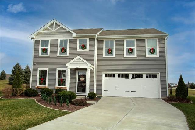 2851 Barnes Court, Greenwood, IN 46143 (MLS #21757282) :: Richwine Elite Group