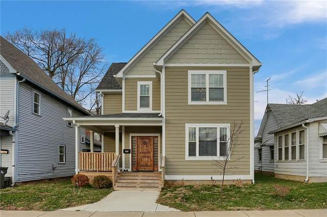 1814 E 11th Street, Indianapolis, IN 46201 (MLS #21757388) :: Dean Wagner Realtors