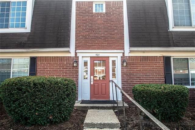 921C Hoover Village Drive C, Indianapolis, IN 46260 (MLS #21757474) :: AR/haus Group Realty