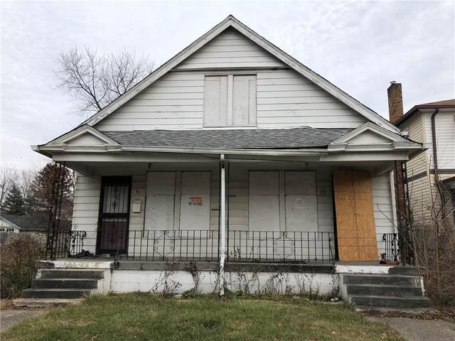 49 N Grant Avenue, Indianapolis, IN 46201 (MLS #21757504) :: Realty ONE Group Dream