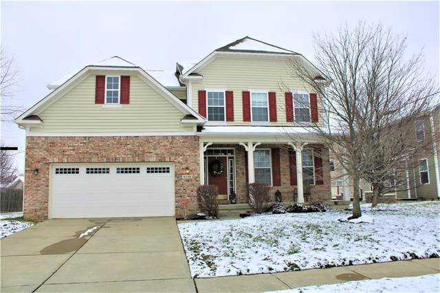 6132 Eagles Nest Boulevard, Zionsville, IN 46077 (MLS #21757591) :: Corbett & Company