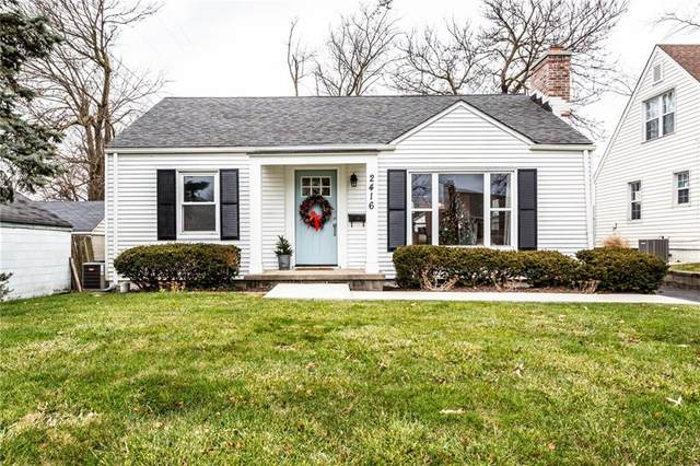 2416 Northview Avenue, Indianapolis, IN 46220 (MLS #21757778) :: AR/haus Group Realty
