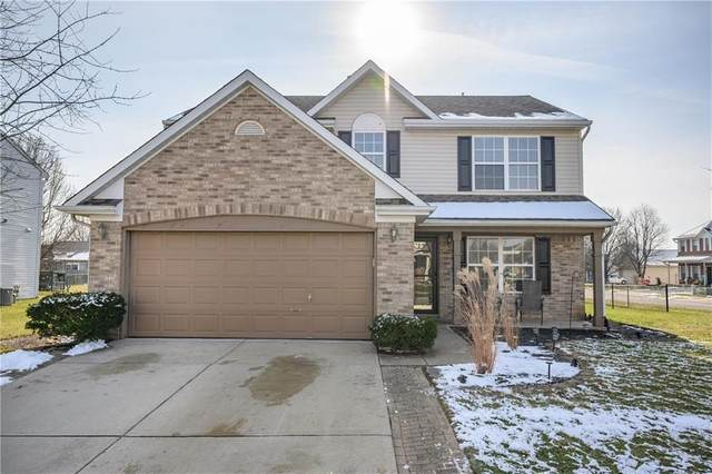 1099 Meadowview Court, Franklin, IN 46131 (MLS #21757873) :: David Brenton's Team