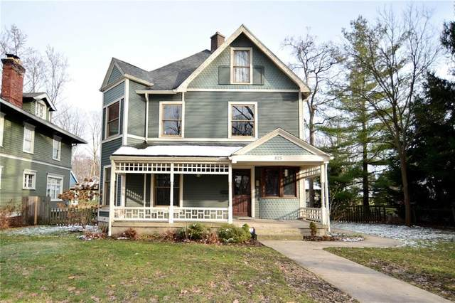825 Woodruff Pl W Drive, Indianapolis, IN 46201 (MLS #21757913) :: Realty ONE Group Dream