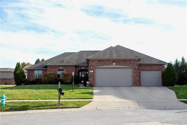 4215 Moss Ridge Court, Indianapolis, IN 46237 (MLS #21757918) :: Richwine Elite Group