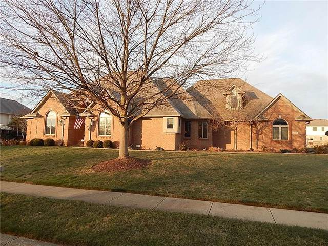 1106 Wood Sage Drive, Avon, IN 46123 (MLS #21757937) :: Corbett & Company