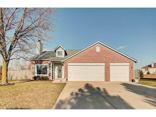 14097 Mimosa Court, Fishers, IN 46038 (MLS #21758012) :: AR/haus Group Realty