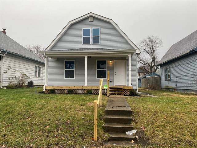 1129 N Ewing Street, Indianapolis, IN 46201 (MLS #21758105) :: RE/MAX Legacy