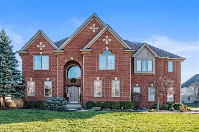 10538 Madison Brooks Drive, Fishers, IN 46040 (MLS #21758144) :: Heard Real Estate Team | eXp Realty, LLC