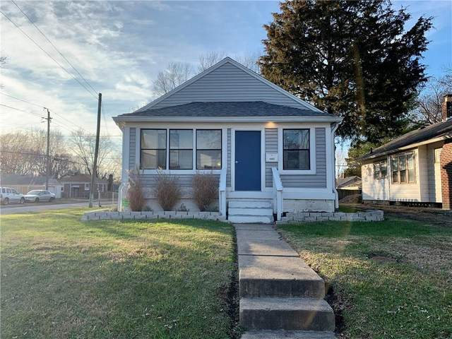 4402 Evanston Avenue, Indianapolis, IN 46205 (MLS #21758152) :: Realty ONE Group Dream