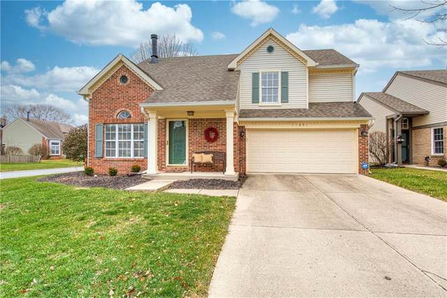 11051 Oakridge Drive, Fishers, IN 46038 (MLS #21758241) :: The Evelo Team