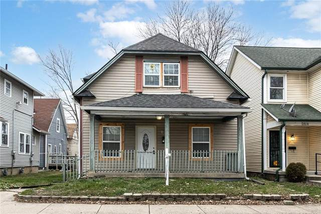 2810 N Highland Place, Indianapolis, IN 46208 (MLS #21758296) :: The Indy Property Source