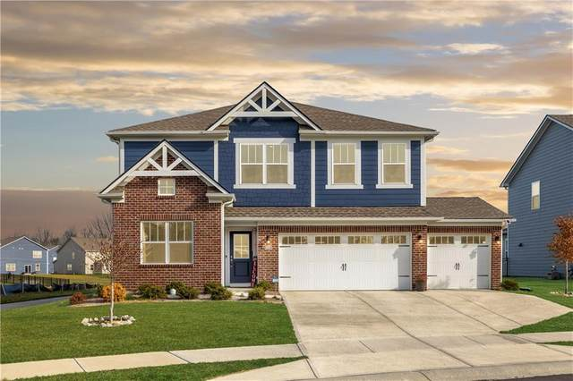 16370 Sedalia Drive, Fishers, IN 46040 (MLS #21758423) :: Realty ONE Group Dream