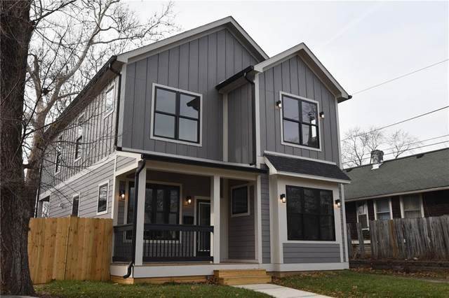 1208 Windsor Street, Indianapolis, IN 46201 (MLS #21758518) :: The Indy Property Source