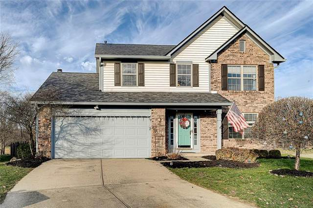 10360 Brothers Court, Fishers, IN 46037 (MLS #21758549) :: Mike Price Realty Team - RE/MAX Centerstone