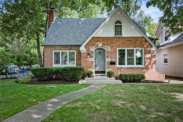 350 Blue Ridge Rd, Indianapolis, IN 46208 (MLS #21758581) :: AR/haus Group Realty