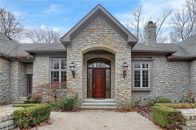 9047 Timberwolf Lane, Zionsville, IN 46077 (MLS #21758739) :: Richwine Elite Group