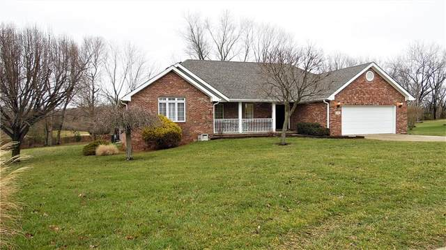 2808 Morgan Trail North Drive, Martinsville, IN 46151 (MLS #21758863) :: The Evelo Team