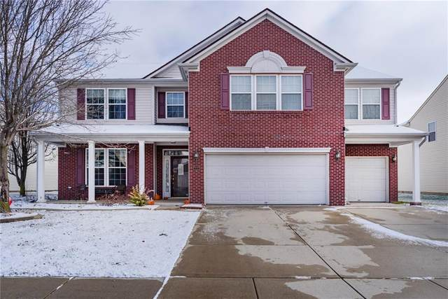 2525 Greythorne Drive, Indianapolis, IN 46239 (MLS #21759123) :: The Evelo Team