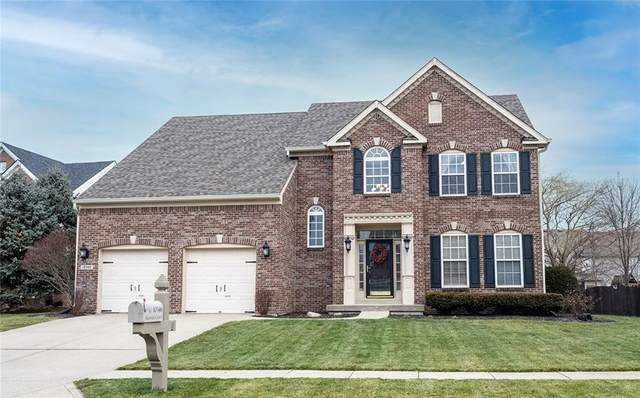 10346 Aurora Court, Fishers, IN 46038 (MLS #21759130) :: AR/haus Group Realty