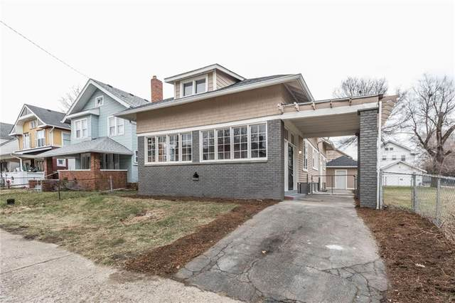 2933 Broadway Street, Indianapolis, IN 46205 (MLS #21759152) :: The Evelo Team