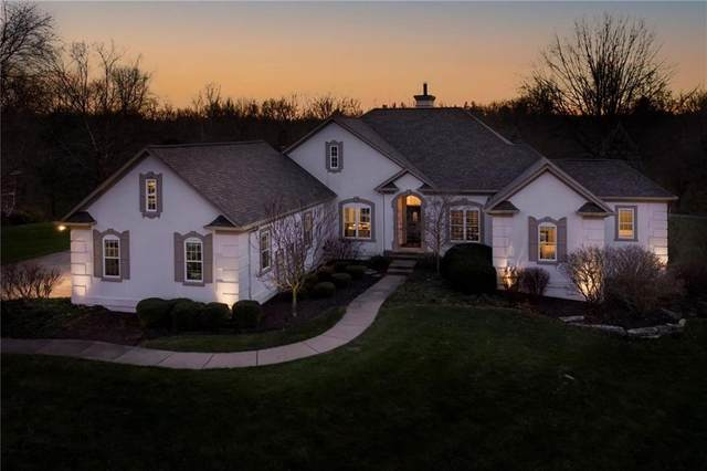 9292 Deer Ridge Drive, Zionsville, IN 46077 (MLS #21759158) :: The Indy Property Source