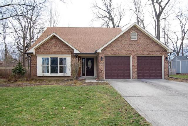 8731 Ginnylock Drive, Indianapolis, IN 46256 (MLS #21759264) :: AR/haus Group Realty