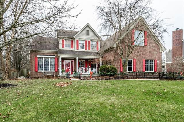 9643 Bellflower Drive, Zionsville, IN 46077 (MLS #21759272) :: The Indy Property Source