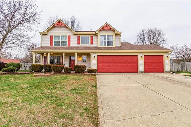 5524 Alcott Circle, Indianapolis, IN 46221 (MLS #21759282) :: The Indy Property Source
