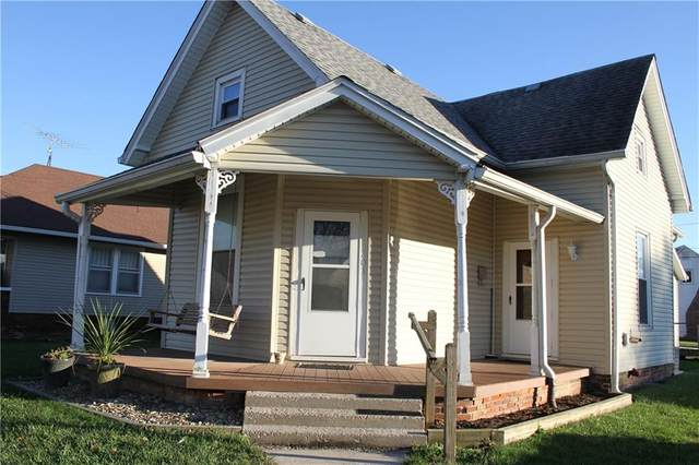 201 Howard Street, Shelbyville, IN 46176 (MLS #21759301) :: The Indy Property Source