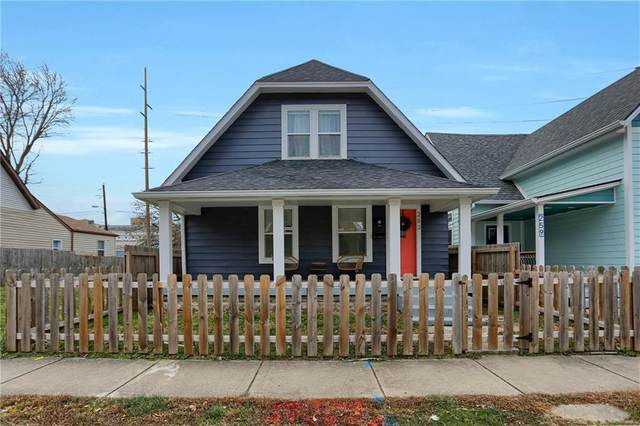 263 E Caven Street, Indianapolis, IN 46225 (MLS #21759361) :: Mike Price Realty Team - RE/MAX Centerstone