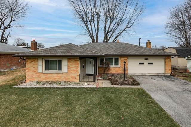 6110 Ashway Court, Indianapolis, IN 46224 (MLS #21759431) :: The Evelo Team