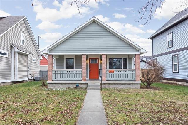 2419 N New Jersey Street, Indianapolis, IN 46205 (MLS #21759452) :: Realty ONE Group Dream