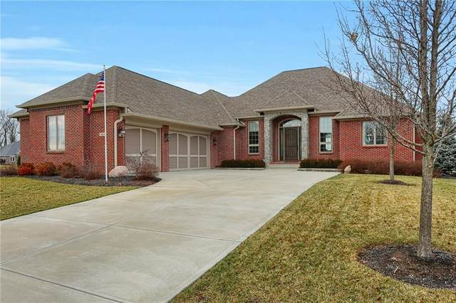 8824 Capstone Lane, Indianapolis, IN 46259 (MLS #21759453) :: The Indy Property Source