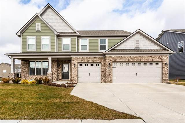 16112 Lavina Lane, Fishers, IN 46040 (MLS #21759483) :: Realty ONE Group Dream