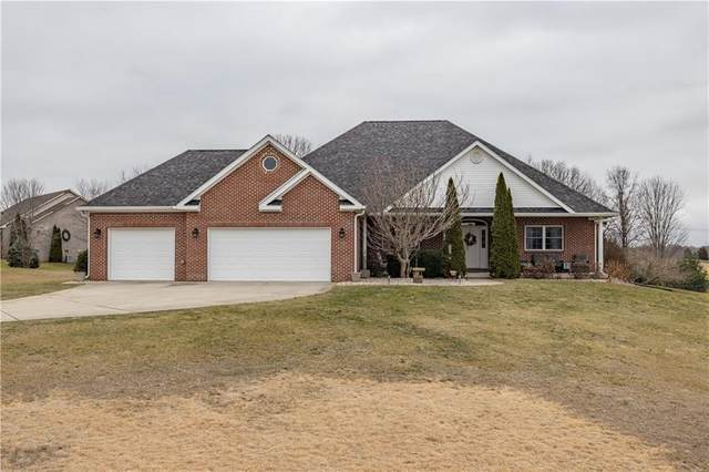 8349 Haggard Drive, Martinsville, IN 46151 (MLS #21759495) :: The Indy Property Source
